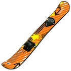 Fusion 127cm Snowboard with Toe Bindings