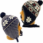 Knit Hats with Ear Flaps
