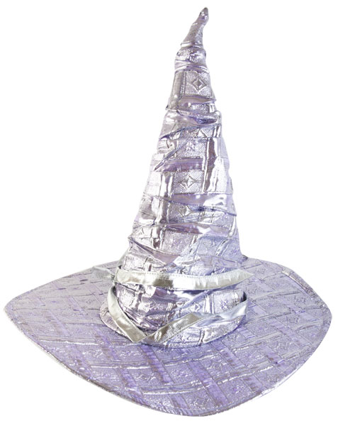 Silver Wizard Hat