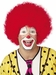 Jumbo Red Clown Wig