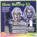 Silver Face & Body Makeup Kit