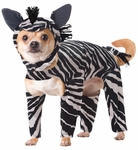 Dog Zebra Costume