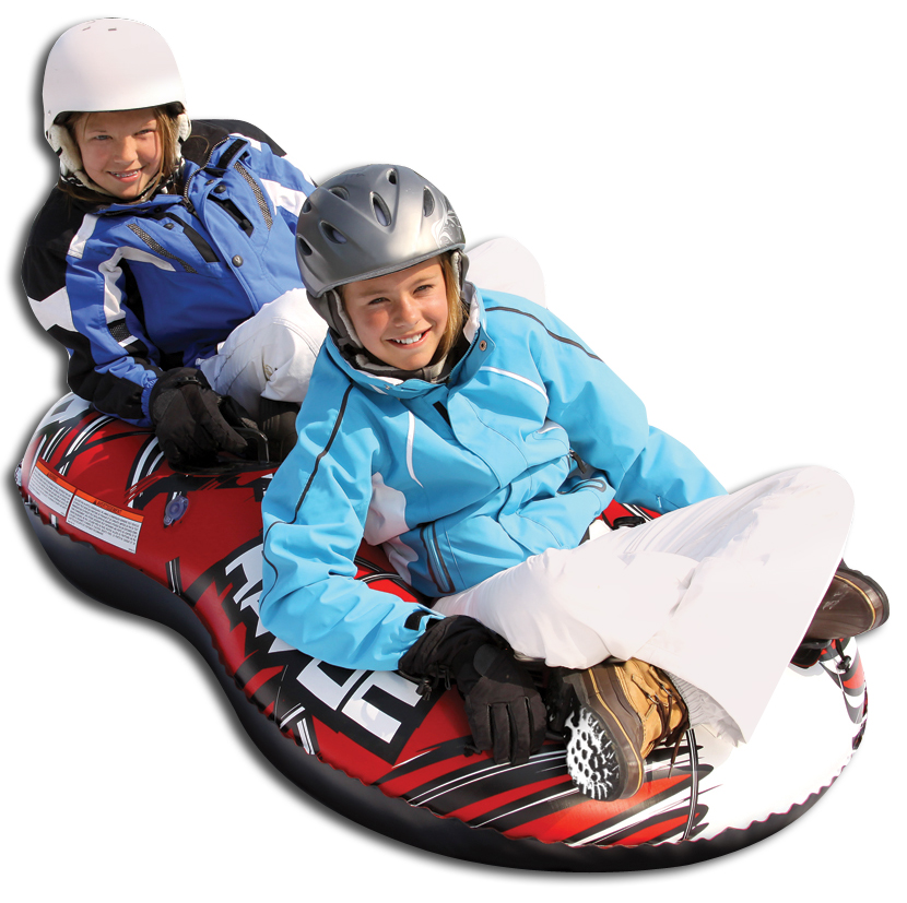 Airhead Havoc Figure 8 Inflatable Toboggan Snow Tube