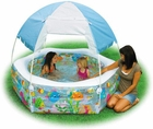Inflatable Ocean Reef Shade Pool