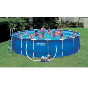 "Intex Frame Set 18' x 48"" Pool Liner Only"