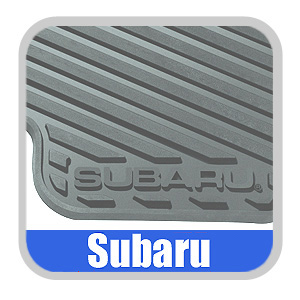 2009-2011 Subaru Forester Floor Mats Rubber, All-Weather 4-Piece Set Black