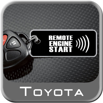 2008-2009 Toyota Camry Remote Engine Starter Kit Complete Kit