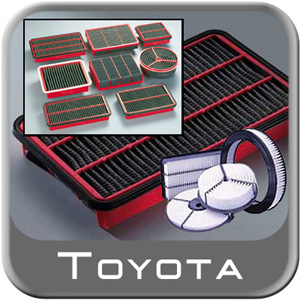 1987-1989 Toyota MR2 Air Filter Factory Replacement