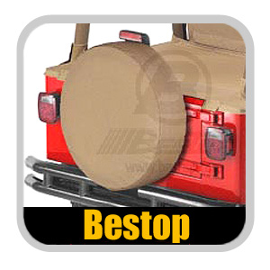 "Bestop Spice Spare Tire Cover Spice Color Large (30"" x 10"")"