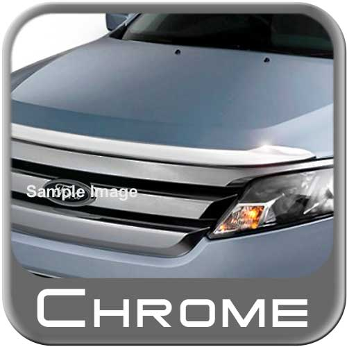 2013 Chevy Malibu Bug Deflector Aeroskin Low Profile Chrome