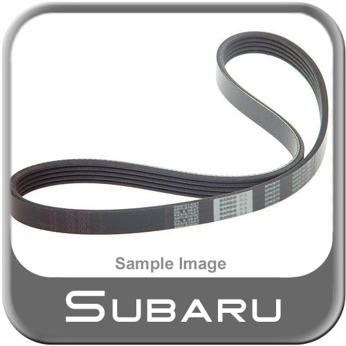 2006-2009 Subaru Forester Alternator Belt Ribbed V-Belt Non Turbo