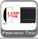 Precision Trim Black Tread Molding