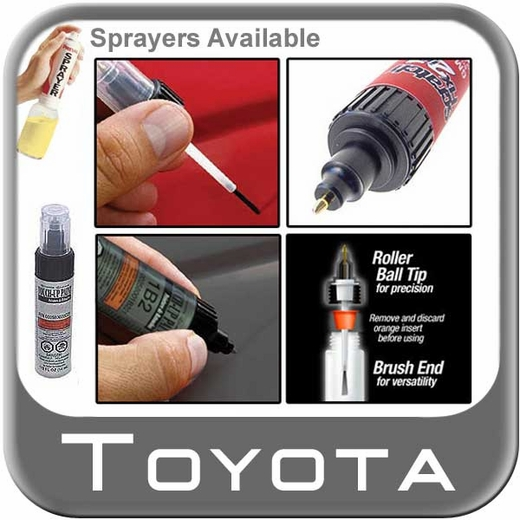 Toyota Touch-Up Paint Silver Sky Metallic Color Code 1D6 1/2 oz. Tube