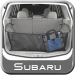 2011 Subaru Forester Cargo Net Envelope Style, Rear Vertical Mount