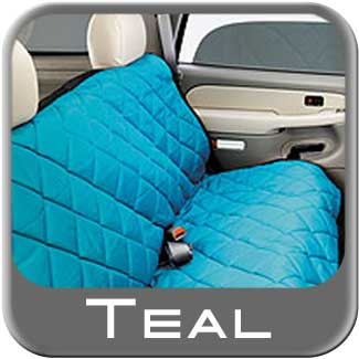 Covercraft Teal Pet Seat Cover Teal Material Bench Seat Style