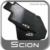 2011 Scion xB Floor Mats Carpeted, 5-Piece Set Special Edition Release Series 8.0 Automatic Transmission