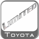 Genuine Toyota LIMITED Emblem Badge