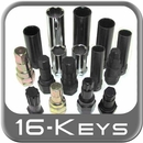 Master Wheel Lock / Lug Nut Keys