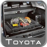 2010-2014 Toyota 4Runner Cargo Net Spider Web Style Black w/Sliding Tray and Cargo Organizer