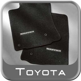 2011-2012 Toyota 4Runner Floor Mats Carpeted, 4-Piece Set Black