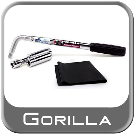"""Power Wrench Lug Wrench Kit Telescoping Handle to 22"""" w/ 2 Thin Wall Sockets w/ 3"""" Extension"""