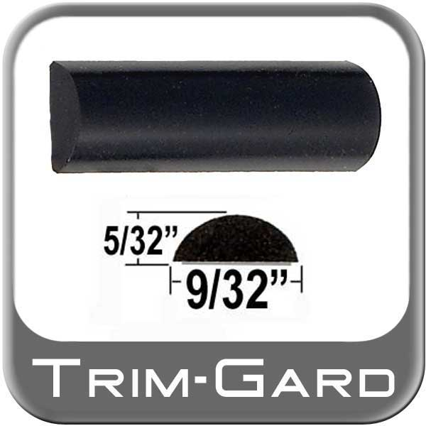 "Black Wheel Molding Trim 9/32"" Wide Wheel Trim"