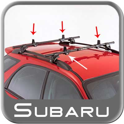 1998 2009 Subaru Forester Roof Rack Load Stabilizers