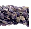 Amethyst Quartz 18x25mm Oval Beads 16 inch Strand