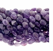 Amethyst Quartz 8x10mm Oval Beads 16 inch Strand