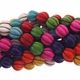 10mm Mix Turquoise Melon Beads 16 Inch Strand