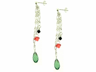 Watermelon Splash Earrings