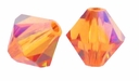 Crystal Astral Pink 5328 4mm Xilion Bicone Crystal Beads (10PK)
