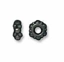 Small Black Finish Turkish Spacer (10PK)