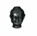Black Finish Buddah LH Bead