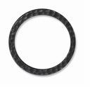 Black Finish X-Lg Hammertone Ring Link