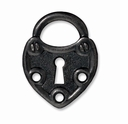 Black Finish Lock Link