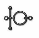 Black Finish 5/8 Inch Anna's Toggle Clasp