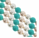 Multi Color 701 6mm South Sea Pearls 16-Inch Strand