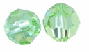 Majestic Crystal� Peridot 6mm Faceted Round Crystal Beads (24PK)
