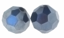 Majestic Crystal� Hematite 6mm Faceted Round Crystal Beads (24PK)