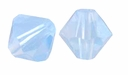 Air Blue Opal 5328 4mm Swarovski Crystal XILION Bicone Beads (10PK)