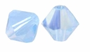 Air Blue Opal AB 5328 4mm Swarovski Crystal XILION Bicone Beads (10PK)