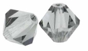 Black Diamond 5328 4mm Swarovski Crystal XILION Bicones Beads (10PK)