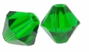 Fern Green 5328 4mm Swarovski Crystal XILION Bicone Beads (10PK)