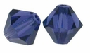 Purple Velvet 5328 4mm Swarovski Crystal XILION Bicones Beads (10PK)
