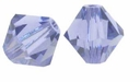 Tanzanite 5328 4mm Swarovski Crystal XILION Bicones Beads (10PK)