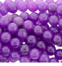 Purple Candy Jade Beads