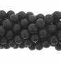 Black Lava Rock Beads