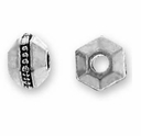 3mm Antique Silver Faceted Spacer (10PK)
