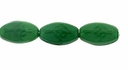 Dark Green Celtic Cross Bead (12pcs)
